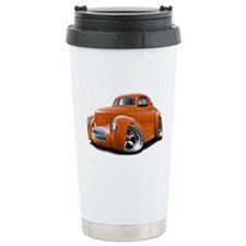 1941 Willys Orange Car Travel Mug