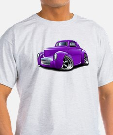 1941 Willys Purple Car T-Shirt