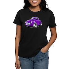 1941 Willys Purple Car Tee