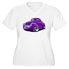 1941 Willys Purple Car T-Shirt