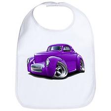 1941 Willys Purple Car Bib