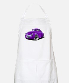 1941 Willys Purple Car Apron