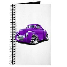 1941 Willys Purple Car Journal