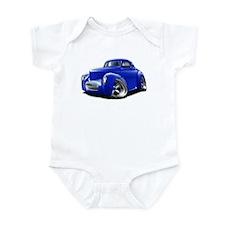 1941 Willys Blue Car Infant Bodysuit