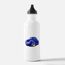1941 Willys Blue Car Water Bottle