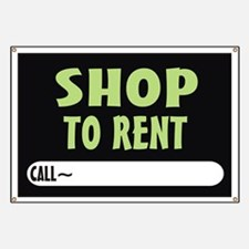 Shop to rent Banner