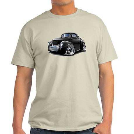1941 Willys Black Car Light T-Shirt