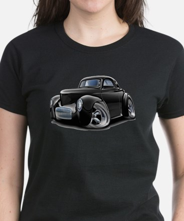 1941 Willys Black Car Tee