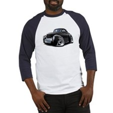1941 Willys Black Car Baseball Jersey