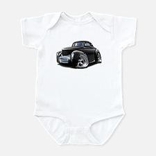 1941 Willys Black Car Infant Bodysuit