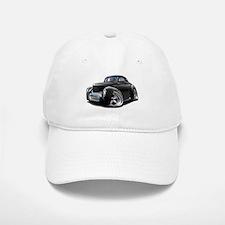 1941 Willys Black Car Baseball Baseball Cap