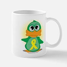 Yellow Ribbon Duck Mug