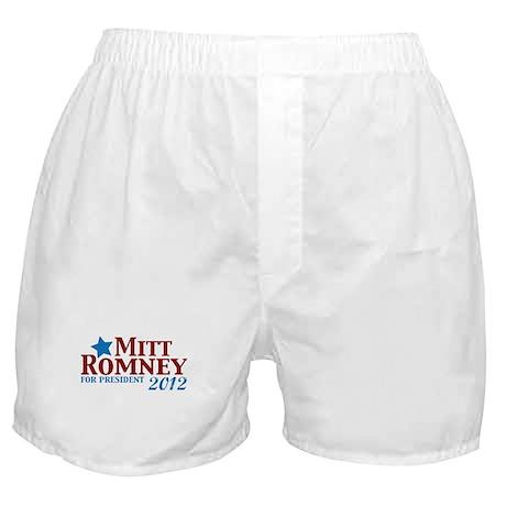 Mitt Romney 2012 Boxer Shorts