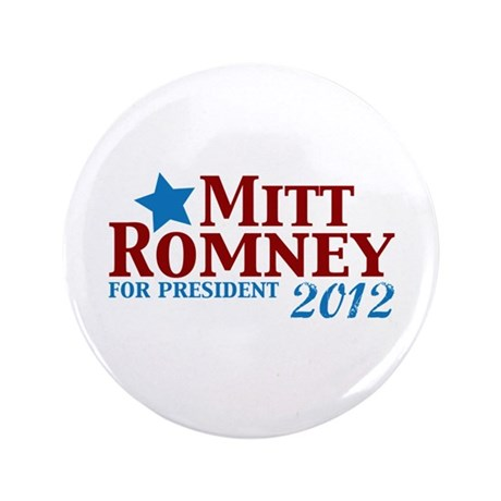 "Mitt Romney 2012 3.5"" Button (100 pack)"