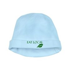 Eat Local baby hat