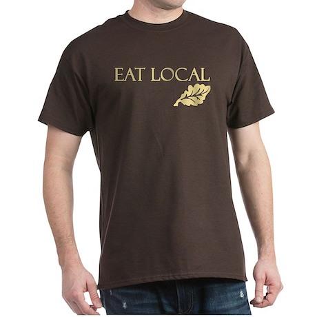 Eat Local Dark T-Shirt