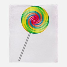 Swirly Lollipop Throw Blanket