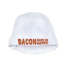 Bacon Makes Me Happy baby hat