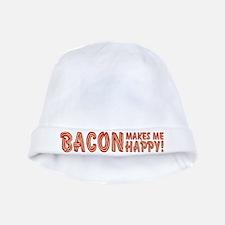 Bacon Makes Me Happy baby hat