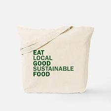 Eat Good Food Tote Bag
