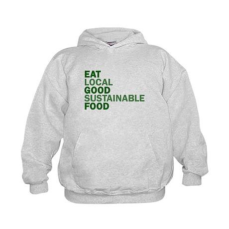 Eat Good Food Kids Hoodie