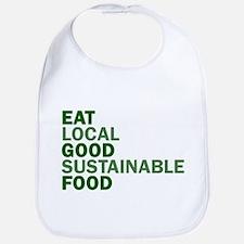 Eat Good Food Bib