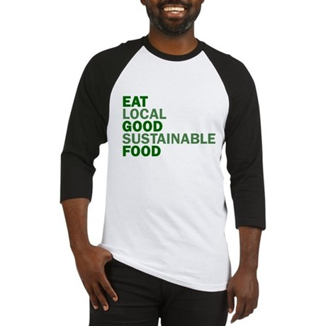 Eat Good Food Baseball Jersey