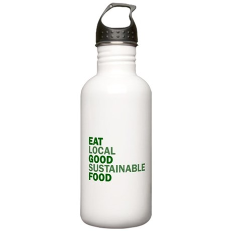 Eat Good Food Stainless Water Bottle 1.0L