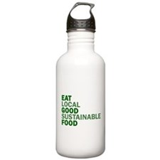 Eat Good Food Water Bottle