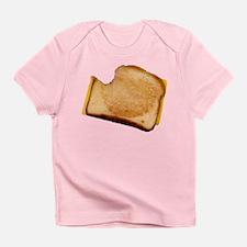 Plain Grilled Cheese Sandwich Infant T-Shirt