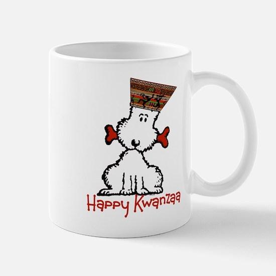 Dog & Bone Kwanzaa Mug