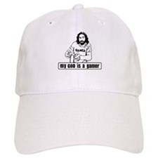 My God is a Gamer Baseball Cap