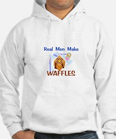 Real Men Make Waffles Gifts Hoodie