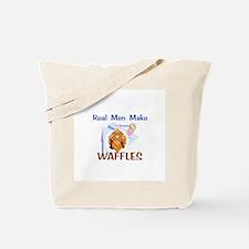 Real Men Make Waffles Gifts Tote Bag