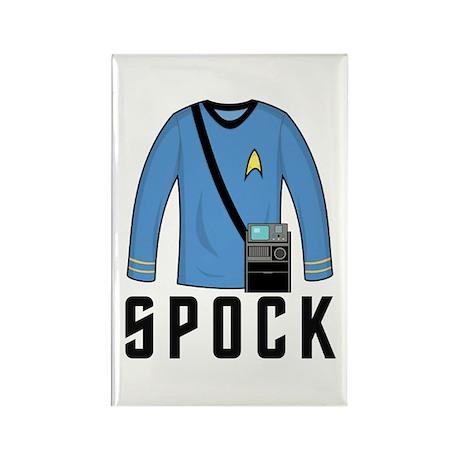 Spock Shirt Rectangle Magnet