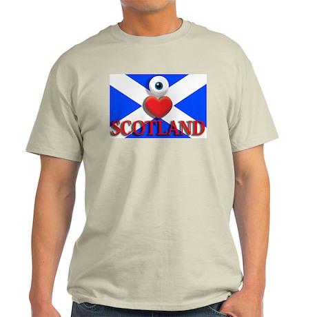 I Love Scotland Light T-Shirt