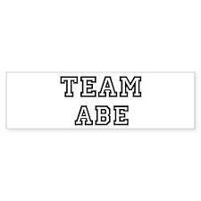 Team Abe Bumper Bumper Sticker