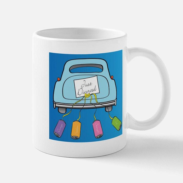 Cute Just divorced Mug