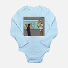 """The Straw"" Long Sleeve Infant Bodysuit"