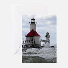 St. Joseph Lighthouse Greeting Cards (Pk of 10