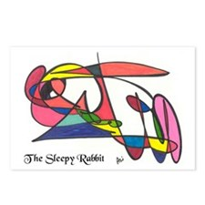 The Sleepy Rabbit Postcards (Package of 8)