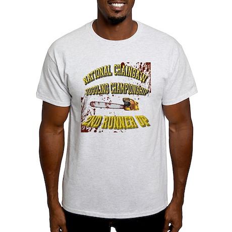 Chainsaw Juggling Light T-Shirt