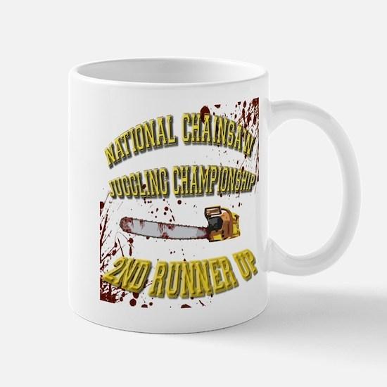 Chainsaw Juggling Mug