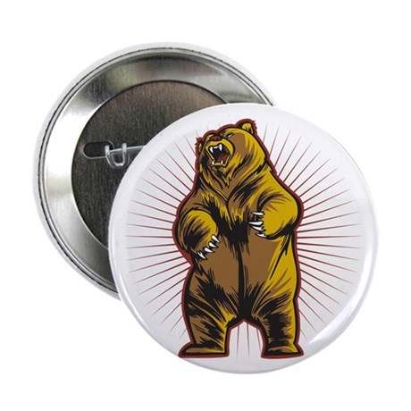 """Angry Bear 2.25"""" Button (10 pack)"""