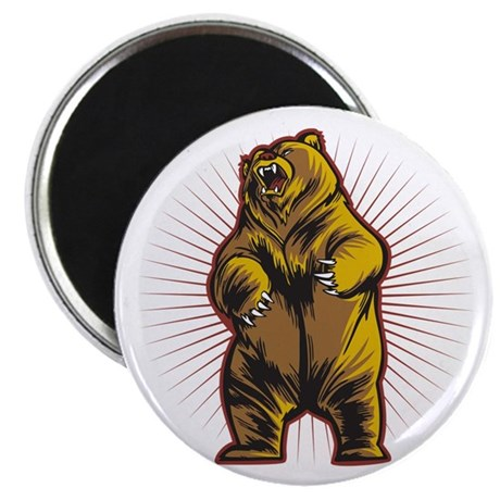 """Angry Bear 2.25"""" Magnet (10 pack)"""