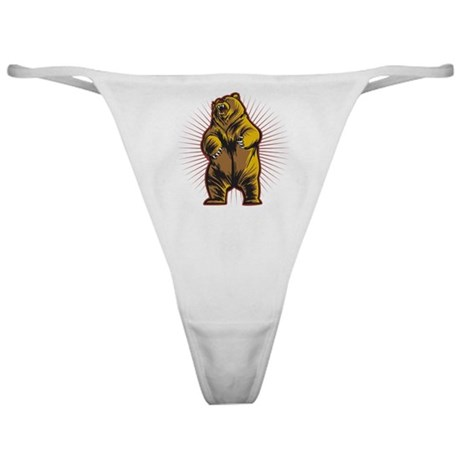 Angry Bear Classic Thong