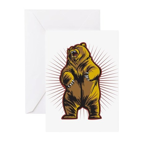 Angry Bear Greeting Cards (Pk of 10)