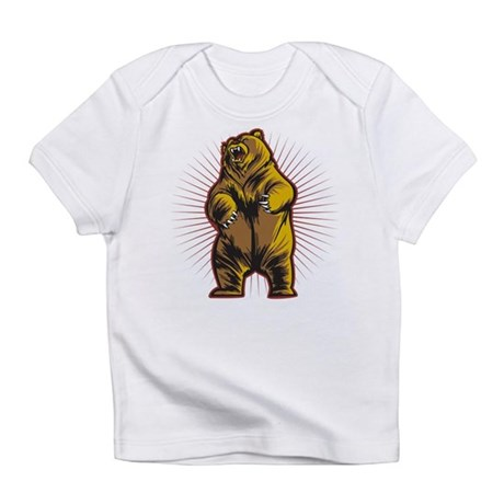Angry Bear Infant T-Shirt