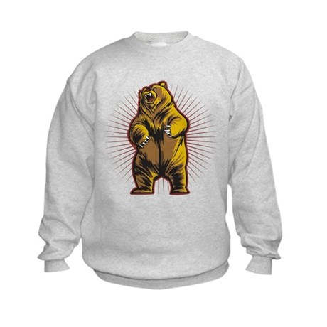 Angry Bear Kids Sweatshirt