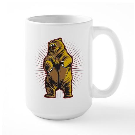 Angry Bear Large Mug